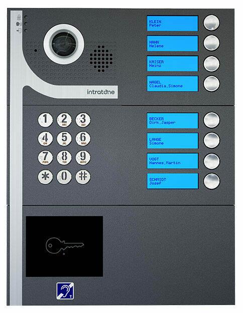Gegensprechanlage mit Video-Funktion, DITA Aufputz, Intratone